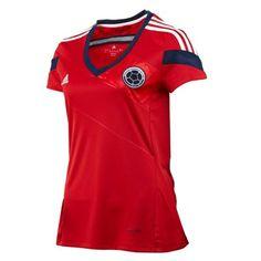 001d1f1efe487 Adidas Camiseta Selección Colombia Mujer MC FCF Visitante