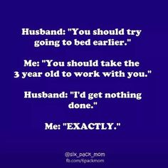 My husband is actually very amazing about helping.. This is still funny, though!