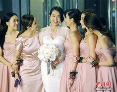 Hk Actress Myolie Wu Holds Wedding Ceremony Http Www Chinaentertainmentnews