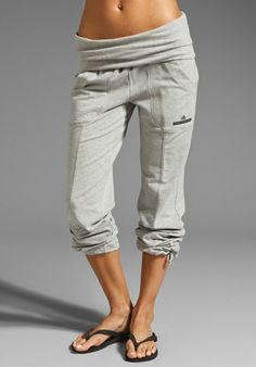 want -- ADIDAS BY STELLA MCCARTNEY Knit Pant in Medium Grey Heather at Revolve Clothing - Free Shipping!