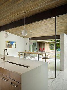 mid century modern remodel deforest architects