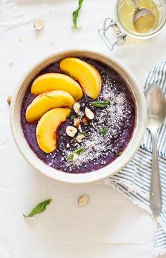 Whipped Berry Detox Porridge