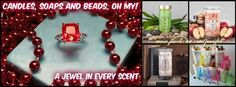 http://www.jewelscent.com/joy777 NOT JUST scented candles....YOU also get to choose from AROMATHERAPY BEADS, HAND SOAP **AND** BODY SCRUBS ...and EACH ITEM HAS A JEWEL INSIDE....JUST WAITING FOR ***YOU***