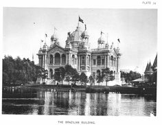 Each photograph is then printed on REAL chemically processed archival photo paper. At The McMahan Photo Archive, you are always buying the best! 1893 World's Columbian Exposition photo of the Brazilian Building. World's Columbian Exposition, Exposition Photo, Agricultural Buildings, Dream Mansion, Unique Buildings, Old Images, White City, World's Fair, Beautiful Architecture