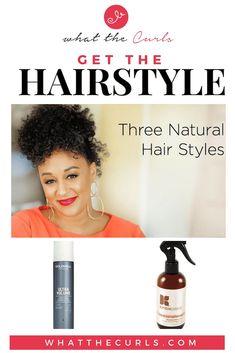 Tia Mowry& 3 Modern Ways to Wear an Afro - Long Natural Curls, Natural Hair Updo, Natural Hair Care, Natural Hair Styles, Afro Hair Care, Hair Care Tips, Big Curly Hair, Curly Hair Styles, Kinky Twist Styles