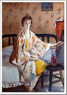 Mary Blair. Self-Portrait.