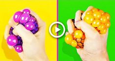 25 EASY CRAFTS YOULL ACTUALLY WANT TO MAKE YOURSELF #craft Diy Crafts To Do, Crafts For Boys, Paper Crafts For Kids, Diy Arts And Crafts, Diy For Kids, Easy Crafts, Slime, Diy School Supplies, Party Supplies