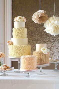 Peachy Cream Cake (BridesMagazine.co.uk)