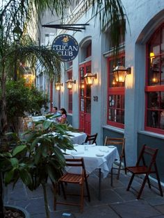 Pelican Club New Orleans - Memories of a great evening here w/the Mendicinos, many years ago.