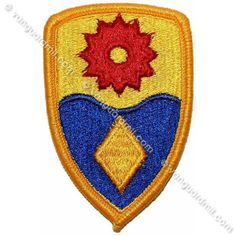 Army Patch: 49th Military Police - color