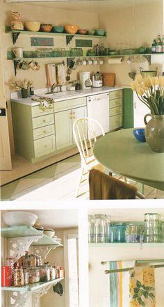 Retro kitchenalia & cooking