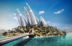#Proyectos futuristas | Isla de Saadiya, #AbuDhabi | #arquitectura #architecture
