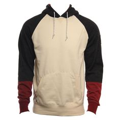 Vissla Mens Sweatshirt Refrus Po Bone Heather