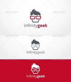Infinity Geek - Logo Design Template Vector #logotype Download it here: http://graphicriver.net/item/infinity-geek-logo-template/3622096?s_rank=45?ref=nexion