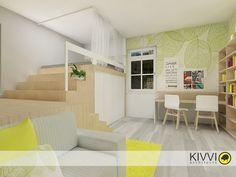 1-izbový byt, Bratislava - Projekty | Kivvi architects