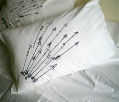 Pi Phi arrow pillow #piphi #pibetaphi