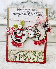 Merry Little Christmas Card