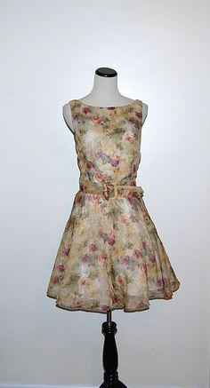 Vintage Dress Dusty Rose by CheekyVintageCloset on Etsy, $24.00