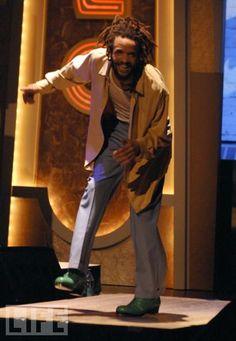 Savion Glover--my favorite guy ever...loved him on Sesame Street ....loved him on stage in Bring in Da Funk, Bring in Da Noise!