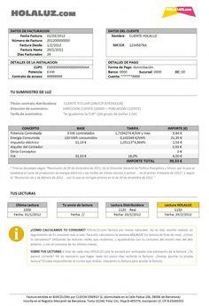 Entender la factura de la luz (Parte I) // www.holaluz.com #Electricidad #Energy #Energia #Eficiencia #Ideas #Blog #Consejos #Ahorro #Energetica #Tarifa #Factura #Contador ¿Por qué no hacemos las cosas más sencillas?