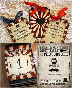 DIY wedding planner with di wedding ideas and tips including DIY wedding tutorials and how to instructions. Everything a DIY bride needs to have a fabulous wedding on a budget! Vintage Circus Party, Circus Carnival Party, Carnival Wedding, Carnival Themes, Vintage Carnival, Circus Theme, Carnival Diy, Wedding Blog, Our Wedding
