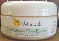 African Shea Butter - 100% pure, organic, unrefined. Super-softening for natural skin and hair care. by BsBotanicals on Etsy