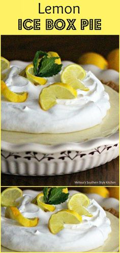 She made ice box pies like this one IN EVERY FLAVOR!    Contact her to get recipes for other flavors