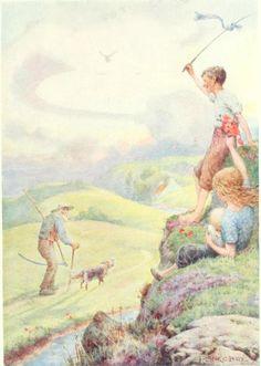 Many more magical illustrations of Frank Cheyne Papé at http://vintagebookillustrations.com/frank-cheyne-pape/