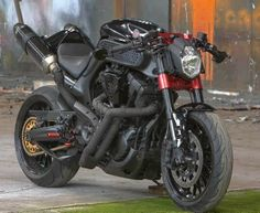 Custom streetfighter motorbike...