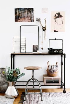 scandinavian dressing table
