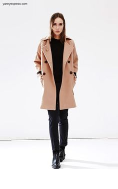 Wool Clutch Coat