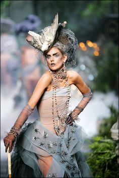 Image result for John Galliano for Christian Dior Haute Couture