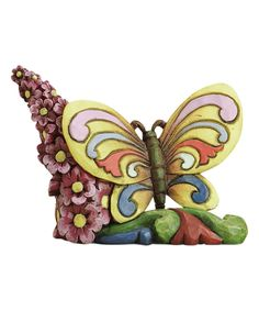 Take a look at this Jim Shore Heartwood Creek Mini Butterfly Figurine today!