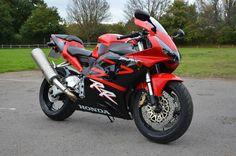 2002/02 HONDA CBR954RR FIREBLADE RED/BLACK 900 1000 RR