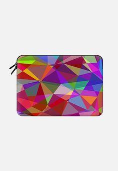 "Bright poligons Macbook 12"" sleeve by Luizavictorya72 | Casetify"