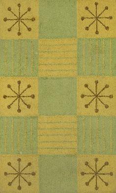 Raymond Loewy, Picnic Rug for Edward Fields, c1952.