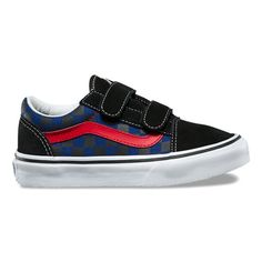 Vans Kids Classic Slip-On (Little Kid Big Kid) (Checkerboard ... c55da5fe4