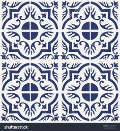 Blue Portuguese tiles pattern - Azulejos vector, fashion interior design tiles , antique , arabesque , azulejo , azulejos , background , blue , ceramic , decoration , decorative , design , fabric , fashion , floor ,  illustration , indigo , interior , lisboa , lisbon , moroccan , mosaic , oriental , ornament , ornamental , patchwork , pattern , port , portugal , portuguese , print , repeat , repeatitive , retro , talavera , tile , tiled , traditional , vector , vintage , wall , wallpaper