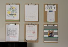 Office Decor, for individual projects