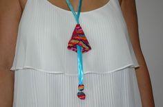 Υφασμάτινα κρινάκια . Handmade Necklaces, Tassel Necklace, Summer Dresses, Jewelry, Fashion, Moda, Jewlery, Summer Sundresses, Jewerly