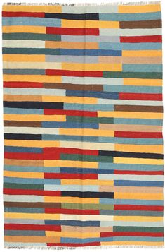 The Kilim is a flat woven carpet that is woven by nomads in the south of Persia. Hand Weaving, Carpet, Colours, Quilts, Wool, Blanket, Rugs, Dark, Grey