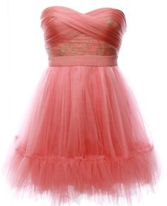 Glowing Organza Dress