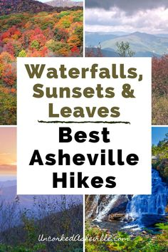 Check out the best Asheville hiking trails as recommended by locals who hike almost every week. We'll share waterfall hikes near Asheville, North Carolina, the best hiking in Asheville for sunsets and views, and hikes near Asheville, NC along the Blue Ridge Parkway, including the Pisgah National Forest, the Black Mountain range, and Craggy Gardens. Experience Asheville like a local with Uncorked Asheville.