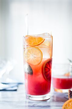 Sparkling Citrus, Lillet & Prosecco Punch