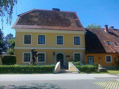 Arnoldov rodný dom v obci Thal.