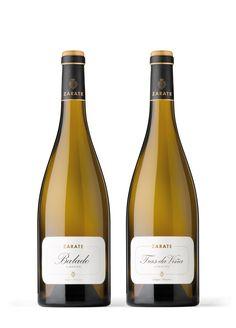Balado y Tras da viña, vinos blancos de Bodegas Zarate #albariño #wine #spain #taninotanino