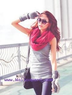 Cute stylish girl 02