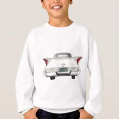 white1960 White Desoto Sweatshirt - classic gifts gift ideas diy custom unique