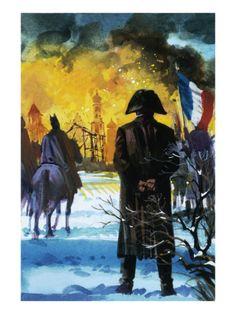Andrew Howat, Napoleone guardia Mosca bruciare