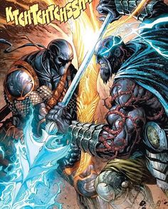 Deathstroke vs Lapetus